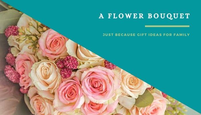 A Flower Bouquet to Spouse