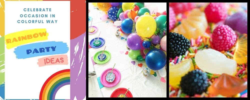 Rainbow Party Ideas to celebrate occasion in colorful way
