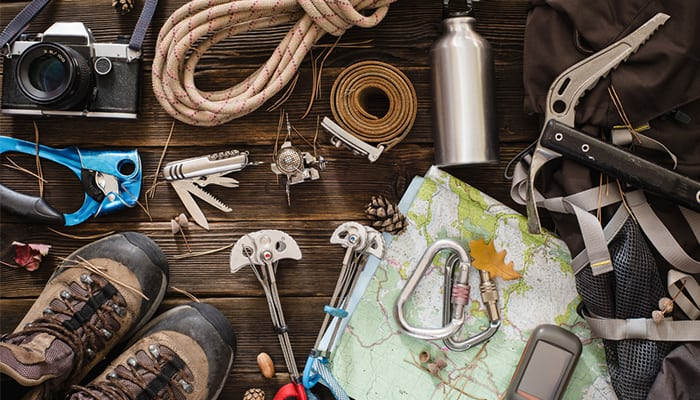Best retirement gifts for dad - Hiking Kit
