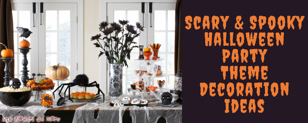 Scary & Spooky Ideas for Halloween Party Theme Decoration