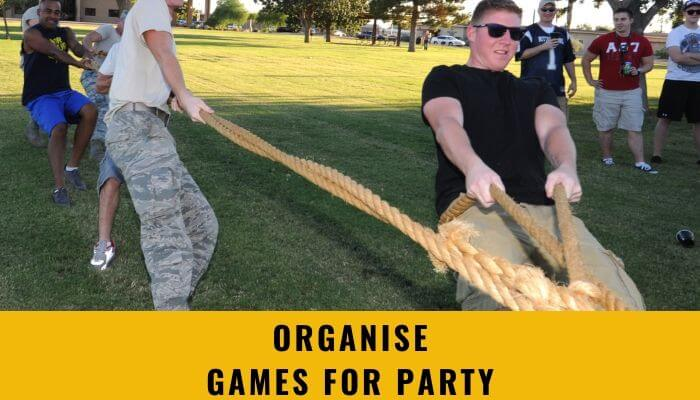 Organize Games for Party
