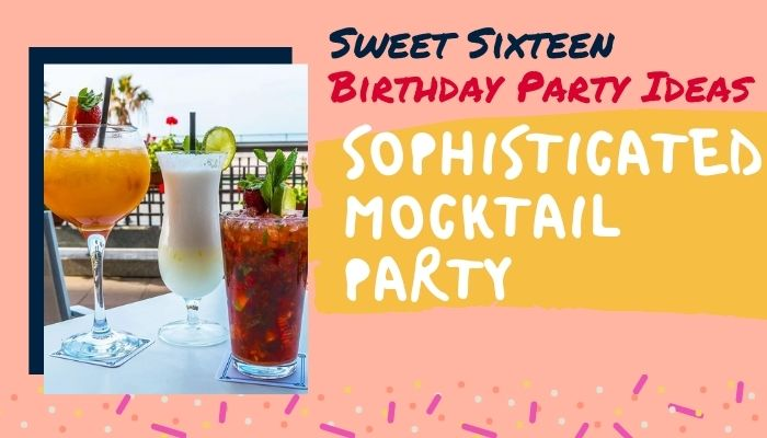 Sophisticated Mocktail Party