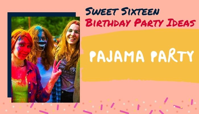 Host a Pajama Party