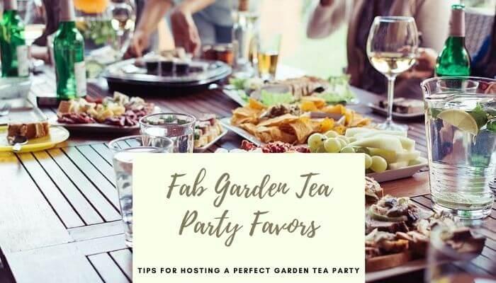 Fab Garden Tea Party Favors