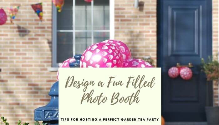 Design a fun filled photo booth
