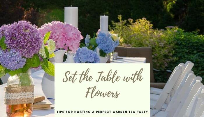 Set the table with Flowers
