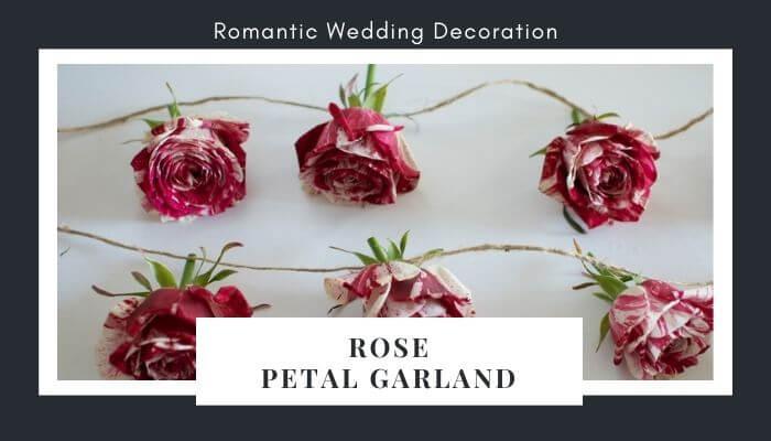 Create Rose Petal Garland