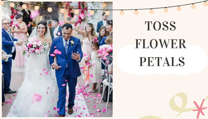Toss Flower Petals